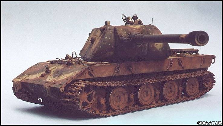 Alfa img - showing e 100 tiger maus